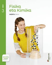 FISIKA ETA KIMIKA IKERTU SAILA 3 DBH EGITEN JAKIN - 9788498945843 por Mª Carmen Vidal Fernandez