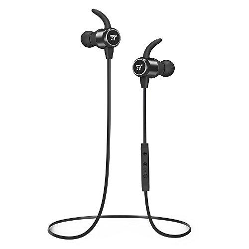 Cuffie Bluetooth 4.2 Magnetiche TaoTronics Auricolari Wireless A2DP Cancellazione del Rumore CVC 6.0 Comode per lo Sport con Microfono MEMES Antenna Ceramica per iPhone e Smartphone Android iPad ecc