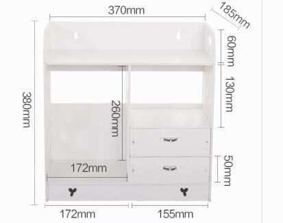 Badezimmer Eitelkeiten Schubladen (ZYT Bad Eitelkeit Regal Regal Badezimmer mit Schublade Boden Mehrzweck Regal Einheit Speicherkonsolidierung)