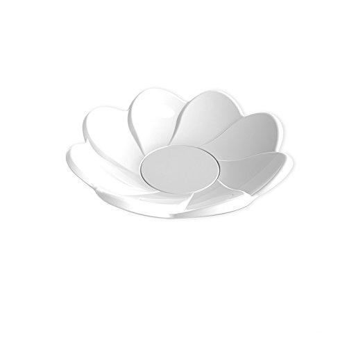 Finger Food soucoupe Daisy PS 8,5 cm 30 cc cfz 25pz Bianco