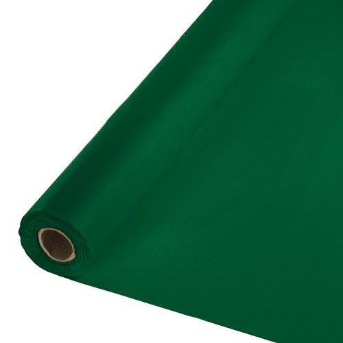 Creative Converting Touch der Farbe Kunststoff Tischdecke Bankett Rolle 250' hunter green