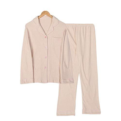 Farbige Stricken Top (Haililais Lose Damen Trainingsanzug Herbst und Winter Farbige Baumwolle Verdicken Warm halten Pyjama Passen Tops und Hosen Einfach Stricken,1,XXL (Color : 2, Size : XXXL))