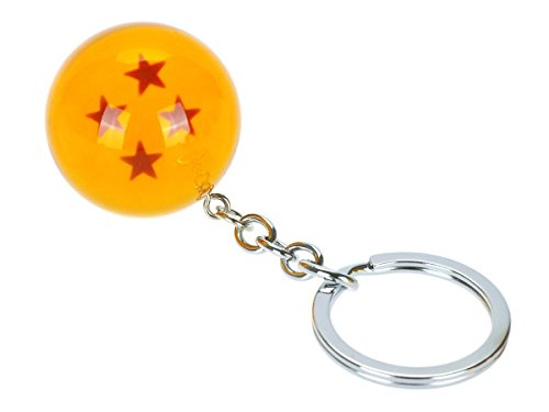 CoolChange Llavero de Dragon Ball, 4 Estrellas