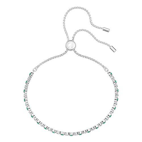 Imagen de swarovski 5465355 brazalete para mujer de acero inoxidable, verde alternativa
