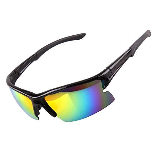 TtKj Herren und Damen Fashion Sonnenbrille Outdoor Sport Mountain Bike Reiten Windabweisend polarisierte Sonnenbrille