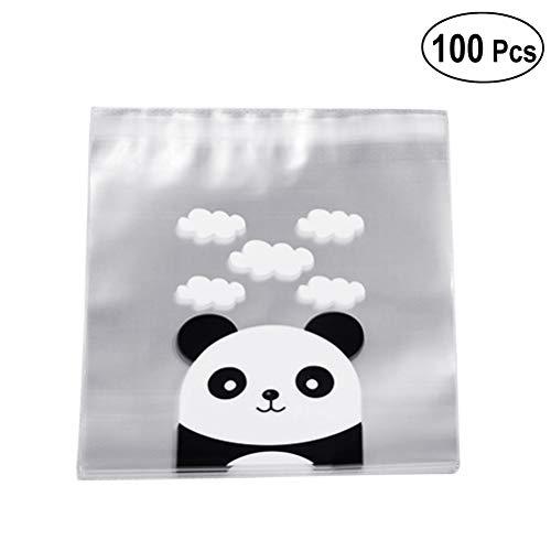 nda Tüten Süßigkeitstasche - Tier BonBon Taschen, 20 x 14 x 3 cm, 100 Stück ()