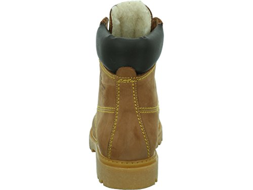Panama Jack Panama 03 Igloo Damen Warm gefüttert Biker Boots Halbschaft Stiefel & Stiefeletten Avellana / Hazelnut
