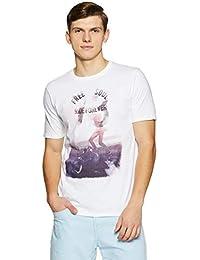 Cherokee Men's Printed Regular Fit T-Shirt