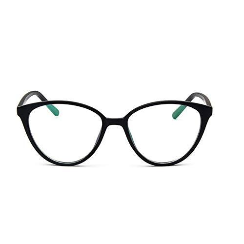 XCYQ Brillengestell Frauen Auge Brillengestell Männer Optische Glasse Rahmen Retro Brillen Computer Brille Transparente Gläser, H