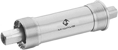 M-Wave Innenlager-Fat Bike-für 100 mm Gehäuse-Silber, Einheitsgröße