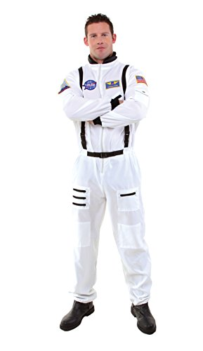Plus Size Astronaut Fancy dress costume 2X (Underwraps Astronaut Kostüm)