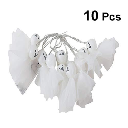D Schnur Lichter mit 10 Glühbirne für Halloween 1.5m (Warm Weiß) ()