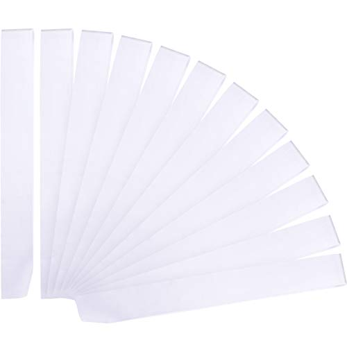 12 Piezas Banda Satén Blanco Accesorios