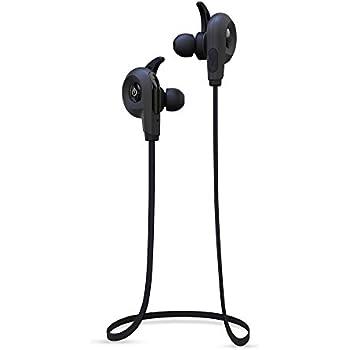 BlueAnt Pump Lite Bluetooth Wireless Sport In- Ear Headphones - Black