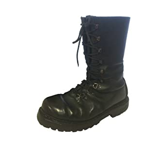 Half Lined Austrian Combat Paratrooper Mountain boots, Grade one