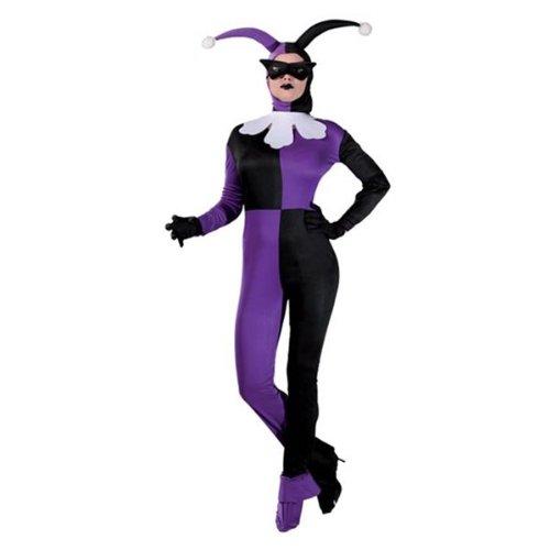 Sexy Lady Joker Kostüm für Damen Gr. S/M, Größe:M