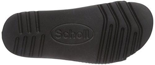 Scholl AIR Unisex-Erwachsene Sandalen Schwarz (Black)