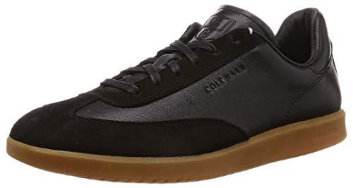COZ7W|#Cole Haan Herren Grandpro Turf Trainer Sneaker, (Suede Black Tumbled/Bl), 43 EU (Schwarz Herren Cole Haan)