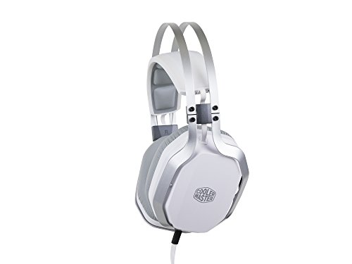 Cooler Master Masterpulse bianco con Bass FX over-ear Gaming Headset