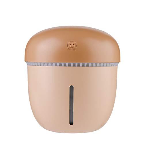 Wascoo Ultraschall-Aromatherapie-Luftbefeuchter, 200 ml (S) / 400ml (L) Kaltdampf-Diffusor mit ätherischen Ölen, Abschaltautomatik, Baby, Yoga, Büro, Zuhause, Schlafzimmer und Badezimmer