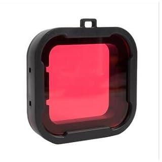 Alamor Xiaomi Yi 4K Zubehör Unter Wasser Tauch Linsen Filter Für Xiaomi Yi 2 4K Actioncamera - Rot