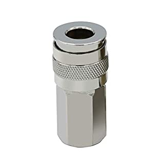 HPDAVV Industrial Type D Air Coupler 1/4 inch NPT Female Thread Quick Connector Fitting