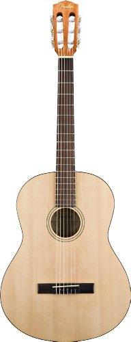 Fender ESC-80 - Guitarra acústica clásica de la serie educativa, 3/4
