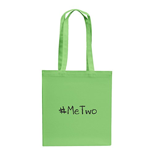 Texlab #MeTwo Hashtag Debatte um Diskriminierung - Stoffbeutel, hellgrün
