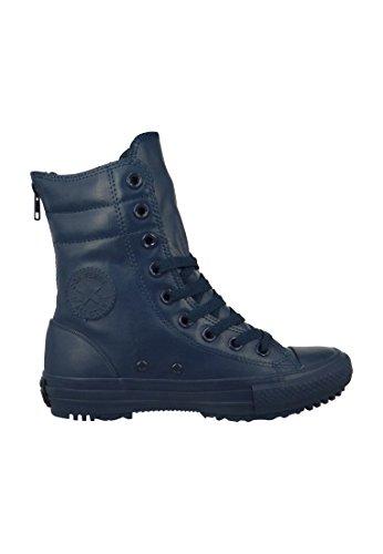 Echangez des bottes en cuir 549590C bleu Mandrins femmes CT AS Salut-Rise Bottes en caoutchouc Nightimee Marine Nightime Navy Nightime