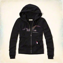 new-hollister-womens-navy-hoodie-size-small