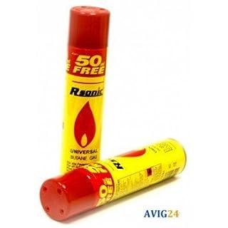 Rsonic ® 300ml Butan Feuerzeuggas Gas - Gasfeuerzeug 300 ml