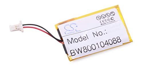 vhbw Li-Polymer Akku 180mAh (3.7V) für Notebook Apple Powerbook G4, A1107 17 Zoll wie 820-1814-A. (Apple G4 Powerbook)
