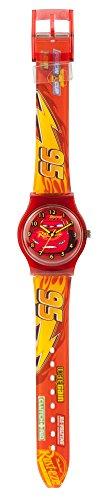 Joy Toy Zeitlernuhr Quarz Taschenuhr 96301 (Lightning Mcqueen Uhr)