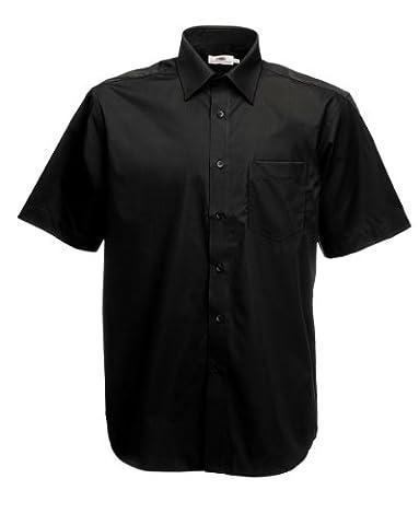 Herren Kurzarm Hemd Freizeit Business Shirt verschiedene Farben und Größen