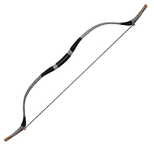 toparchery-60lbs-traditional-handmade-recurve-bow-archery-hunting-bow-targeting-bow-horsebow-longbow