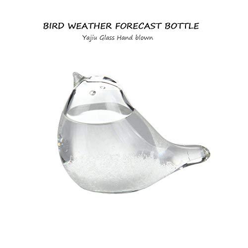 YA-Uzeun Windglas-Wettervorhersser, Vogelform, Kristall, Tischdekoration, Glaskunst