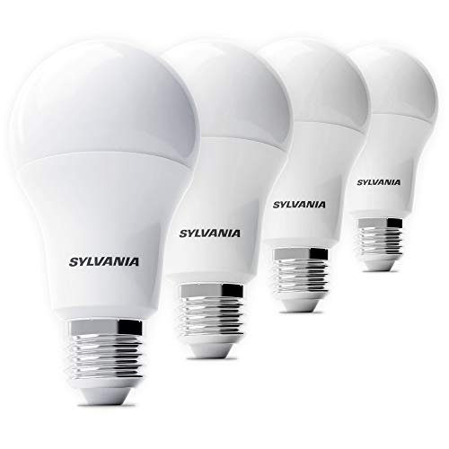 Sylvania 4x LED Lampe ToLEDo A60 - Energiesparlampe, home light (E-27, 8.5 Watt, 3000K)