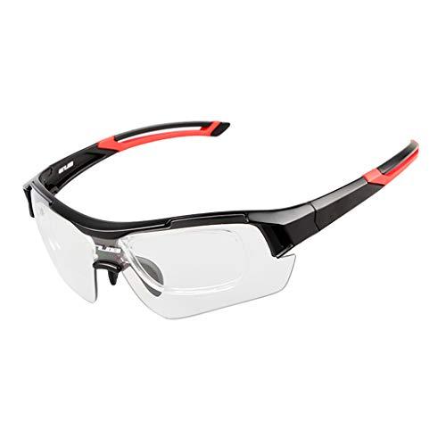 03910df015ce48 perfk Verstellbarer Sportbrille Brille Sonnenbrille Polarisiert  Fahrradbrille UV-Schutz 400.