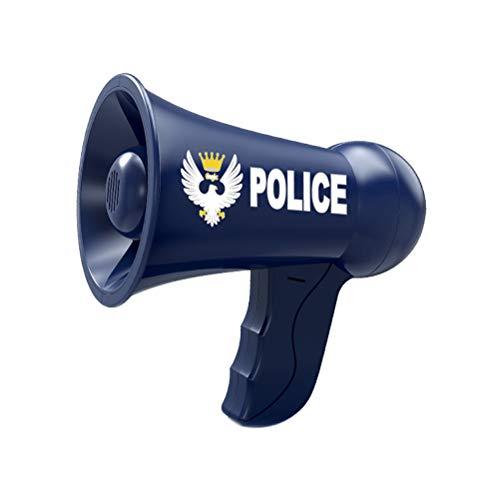 Polizei Offizier Kostüm Kinder - Amosfun Polizei Megaphon Spielzeug Polizei Offizier Kind Megaphon Funny Guide Lautsprecher Spielzeug Rolle Cosplay Spielzeug für Kind Kind Junge ohne Batterien