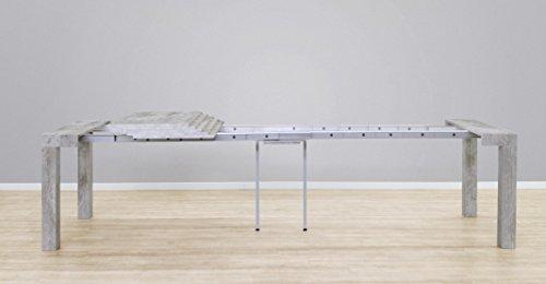 Tavolo Consolle Allungabile Magika.Tavolo Consolle Allungabile Modello Atena Cemento Cm 46306x90 H75