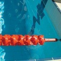 Aqua Wasser schwimmen Zubehör Racing Wettbewerb Lane Anti Wave Tension Spule (Wave Anti Lane)