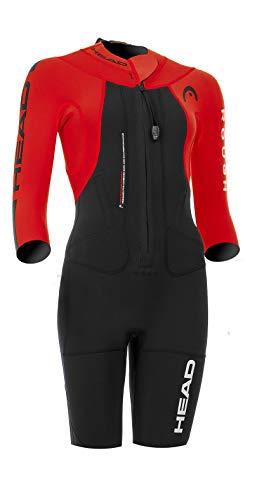 HEAD Swimrun Rough Shorty Suit Women Black-Red Größe S 2019 Triathlon-Bekleidung