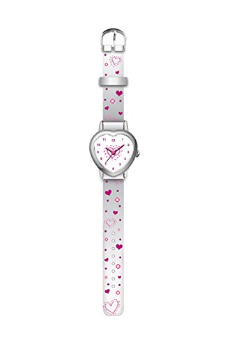 KIDS WATCH 4993007 Armbanduhr, weisses Herz (388 Uhr Batterie)