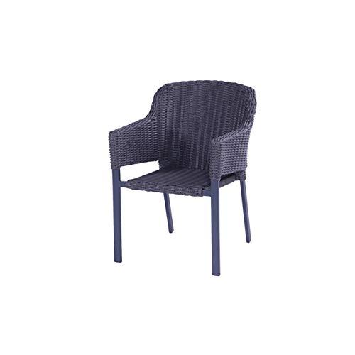 Hartman Cairo Dining Chair Sessel Aluminium Grau inkl. Kissen Gartenstuhl 72553755 -