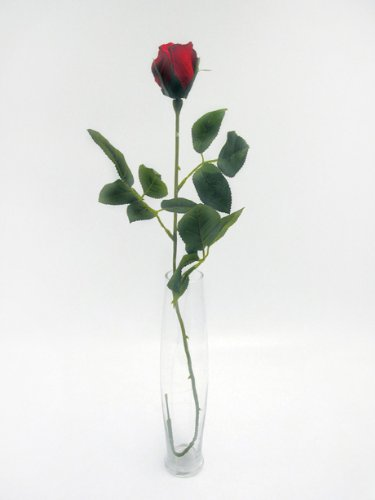 single-premium-artificial-silk-rose-bud-red