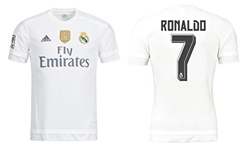 Trikot Kinder Real Madrid 2015-2016 Home WC - Ronaldo 7 (152) (Real Madrid Wc)