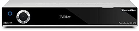 TechniSat TechniCorder ISIO STC - HDTV-Digitalreceiver mit erweiterbarem Doppel-QuattroTuner, Festplatten-Slot, integriertem WLAN und ISIO-Internetfunktionalität, silber