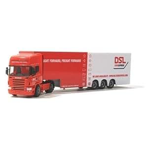 279468 - Herpa eXtra - Scania Eurokoffer-Sattelzug Maersk / DSL StarExpress