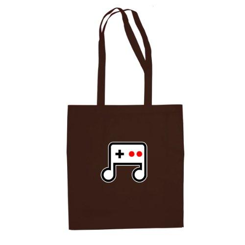 Game Melody - Stofftasche / Beutel Braun