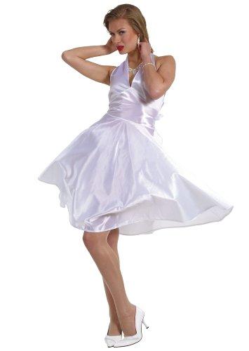 Imagen de cesar  disfraz de marilin monroe para mujer adulto , talla 38/40 cm